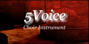 5Voice Choir Instrument - Powerful Choir Sample in Soundfont or WAV Format for FL Studio, Reason, MPC, and more!
