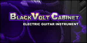 BlackVolt Cabinet Electric Guitar Instrument in Soundfont or WAV Samples for FL Studio, Reason, MPC, and more!